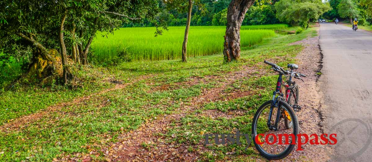 Cycling the Angkor Temples