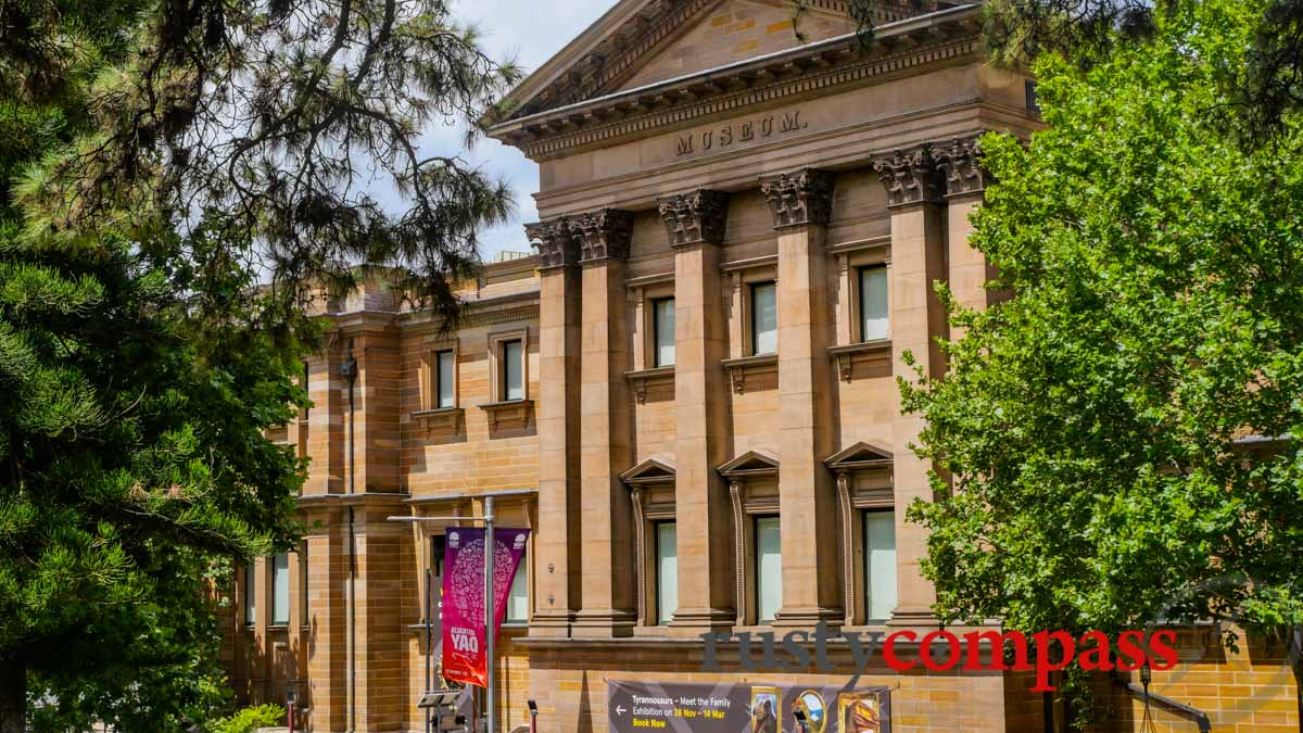 Australian Museum, Sydney - in the grand tradition of 19th century museums - with contemporary themes.