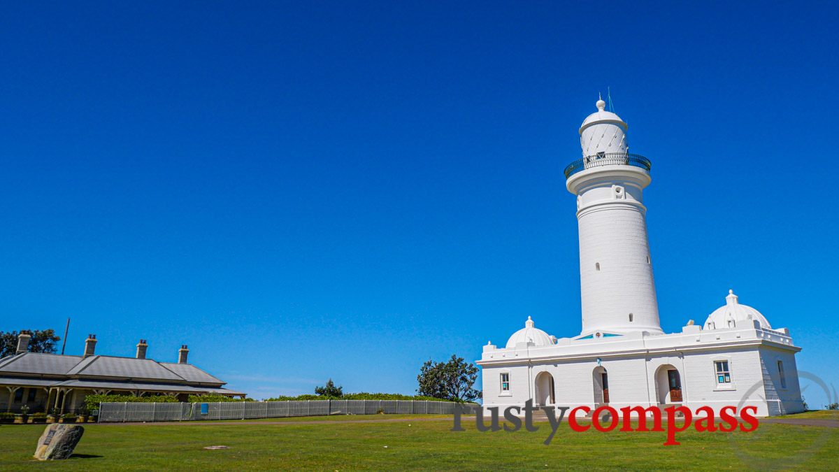 Macquarie Lighthouse - the site of Australia's first lighthouse.