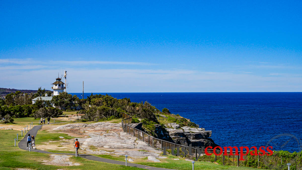 Walking towards the Signal Tower and The Gap - Watson's Bay