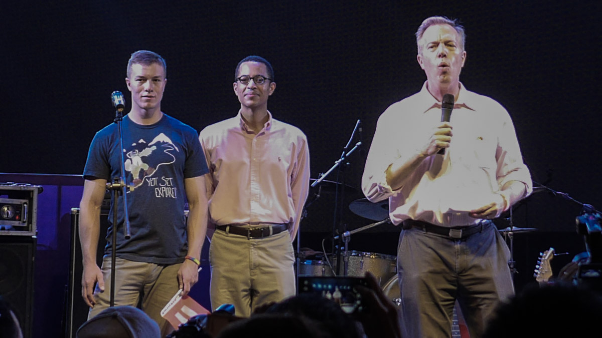 US Ambassador Ted Osius (right) ASEAN Pride celebration 2015