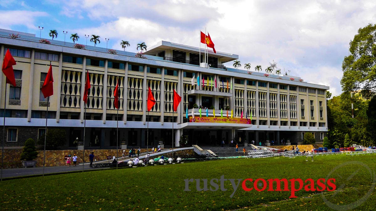 Modernism in Saigon - Reunification Palace