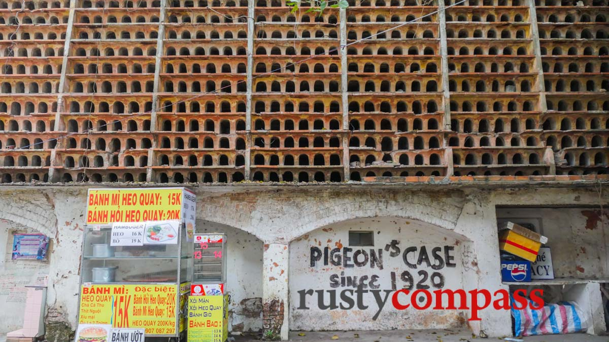 1920s pigeon case facing imminent demolition, Saigon
