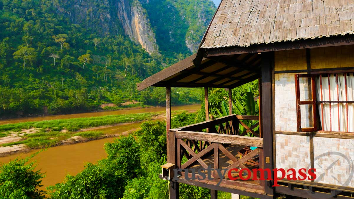 Riverside Resort, Nong Khiaw, Laos