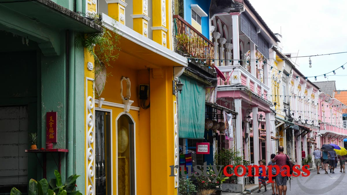 Shophouses in Phuket Town