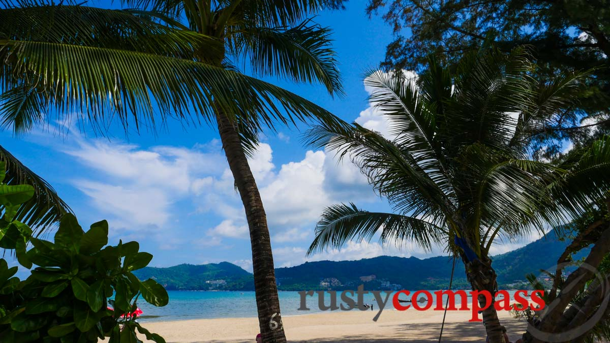 Patong Beach - the centre of mass development in Phuket