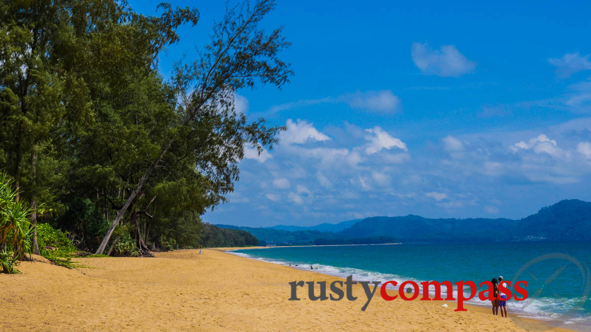 Typical beach scene - Phuket.