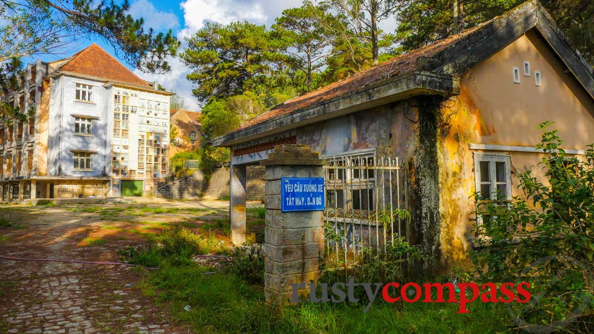 The old Franciscan Mission, Dalat
