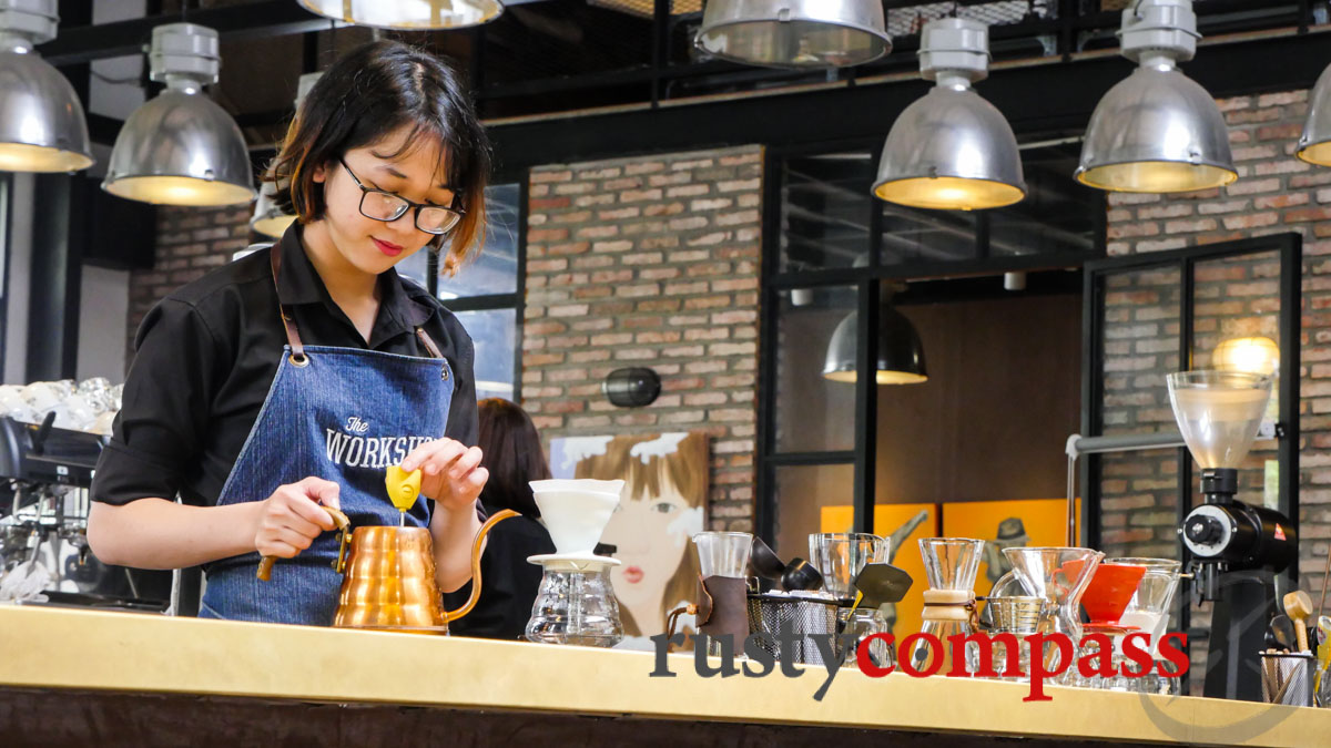 The Workshop - Saigon's coffee scene is flourishing