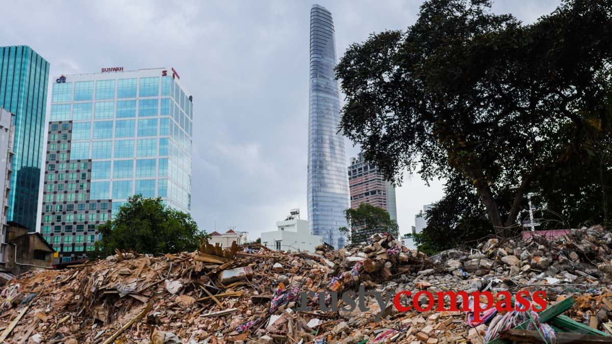 Saigon's opting for concrete and glass