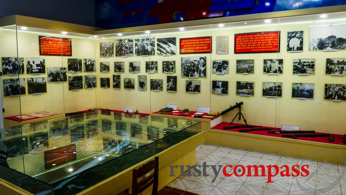 The Tet Offensive gets a few images here - Hue History Museum