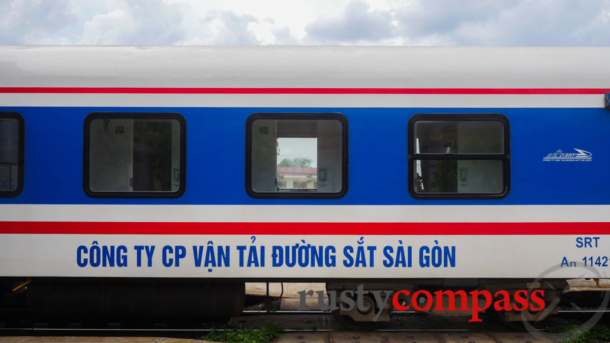 Train to Saigon from Phan Thiet