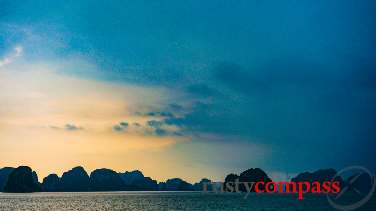 Ha Long Bay is among the tourism hotspots in Vietnam presently closed to visitors.