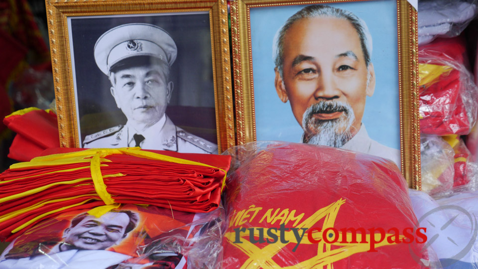 Vo Nguyen Giap is rivalled only by Ho Chi Minh as a Vietnamese national hero.