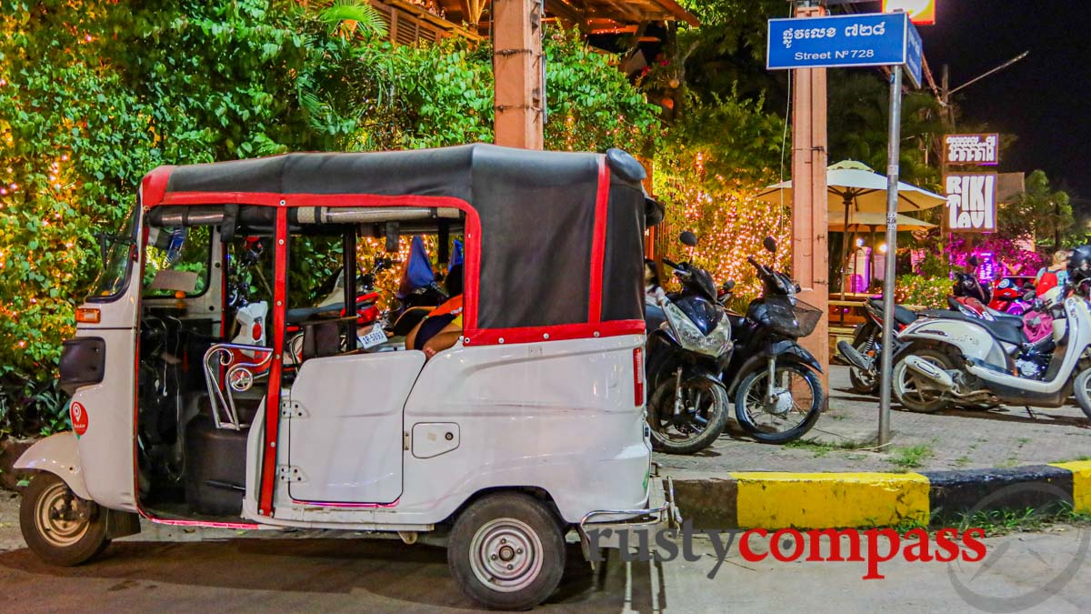 These little tuk-tuks have made getting around safer and easier.