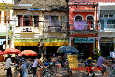 Cambodia,french colonial architecture,history,Kampot