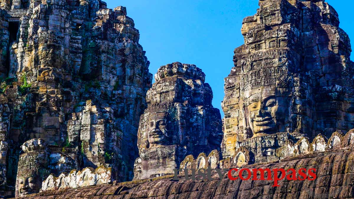 The Bayon by bike