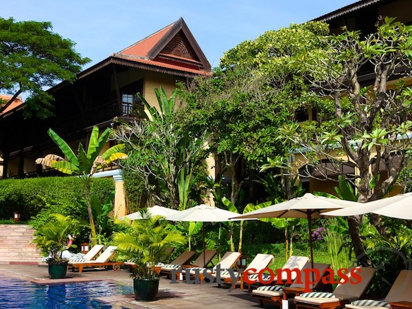 Cambodia,hotels,Siem Reap,Victoria D Angkor Resort and Spa