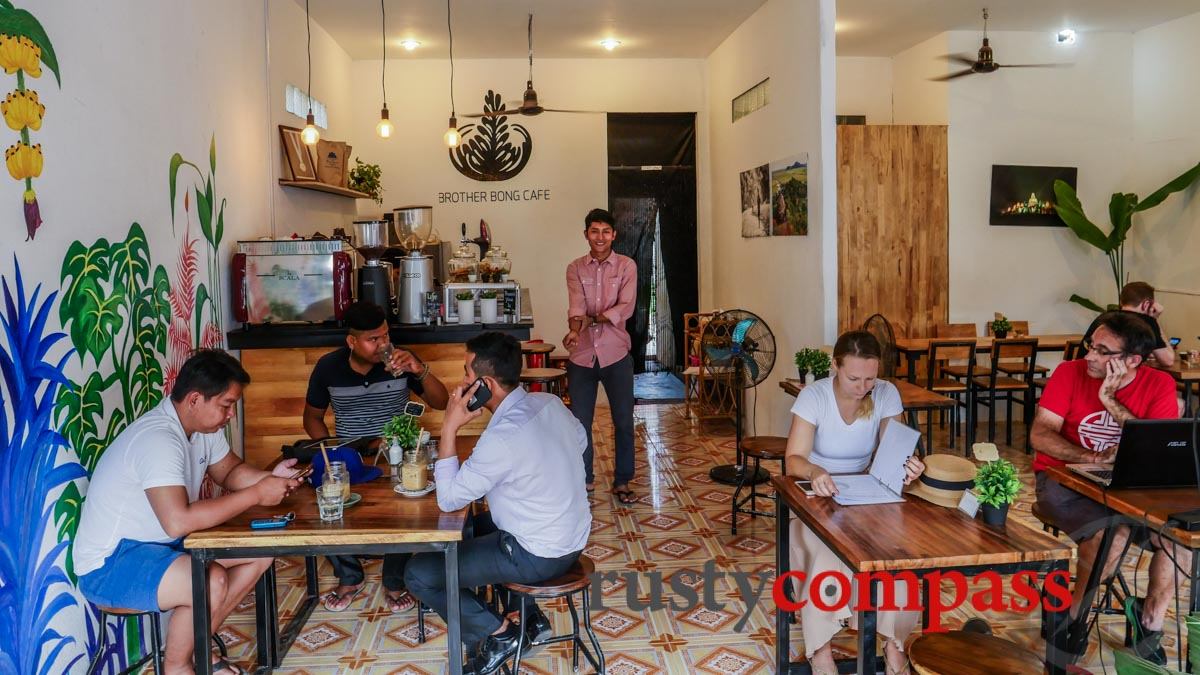 Brother Bong Cafe, Siem Reap