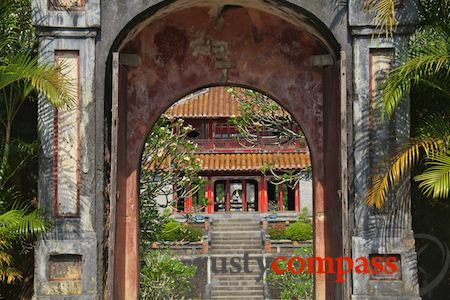 Minh Mang's Tomb,monument,history,Hue,Vietnam