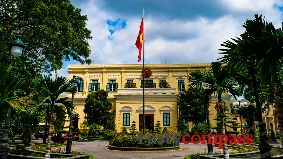 French Governor's former residence - Haiphong, Vietnam