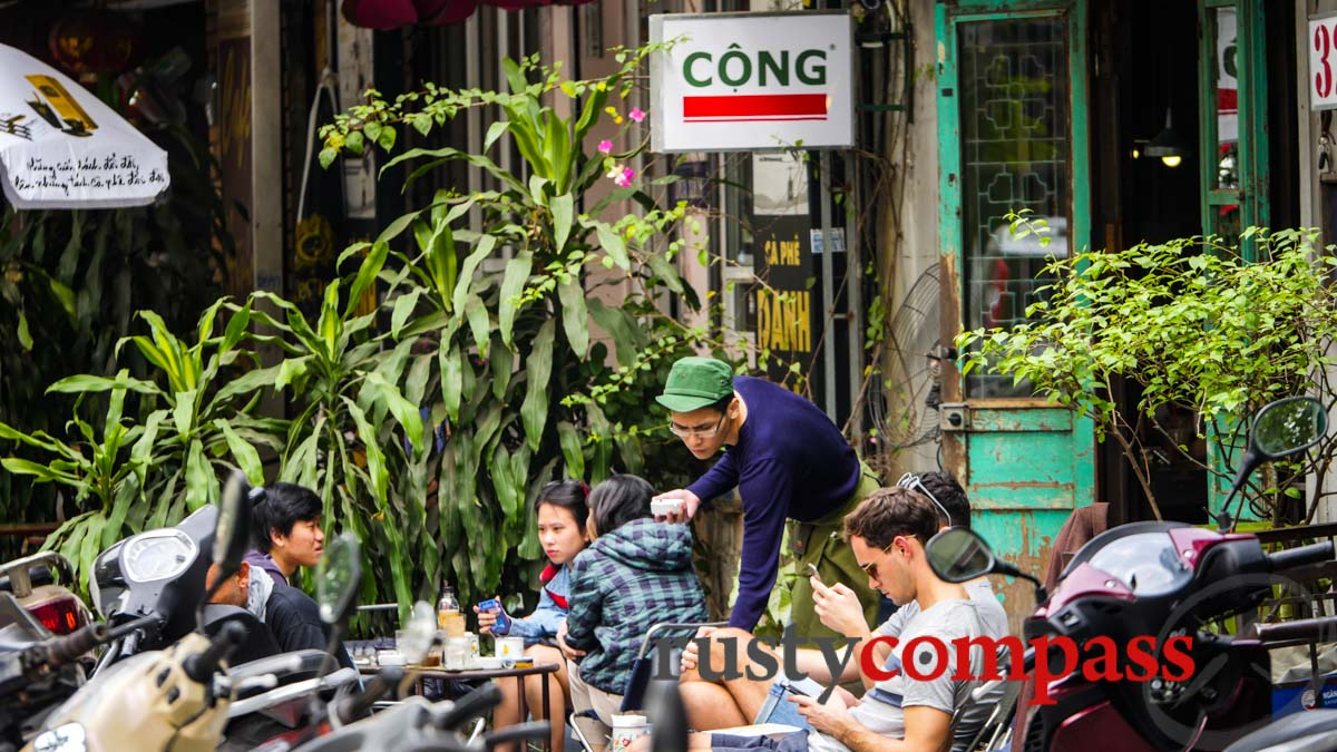 Morning coffee - Hanoi