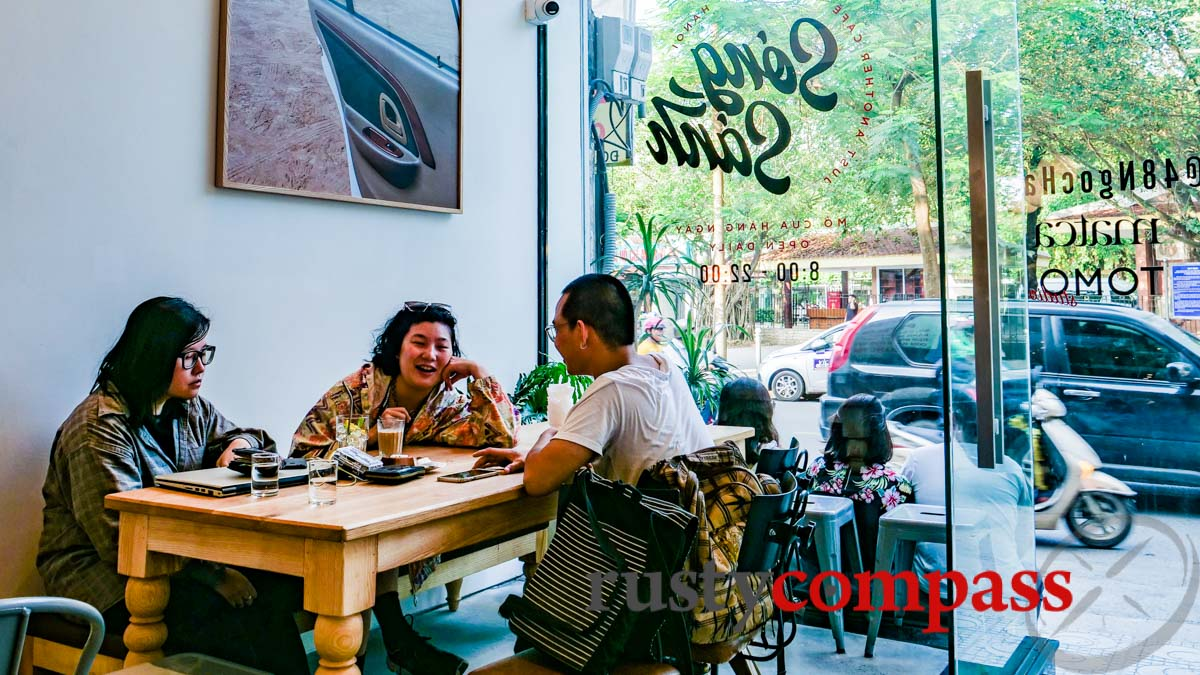 Song Sanh and Matca Cafe in Hanoi