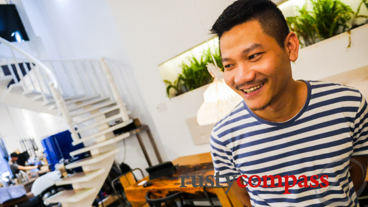 Phong - the man behind Coffee Republic, Saigon