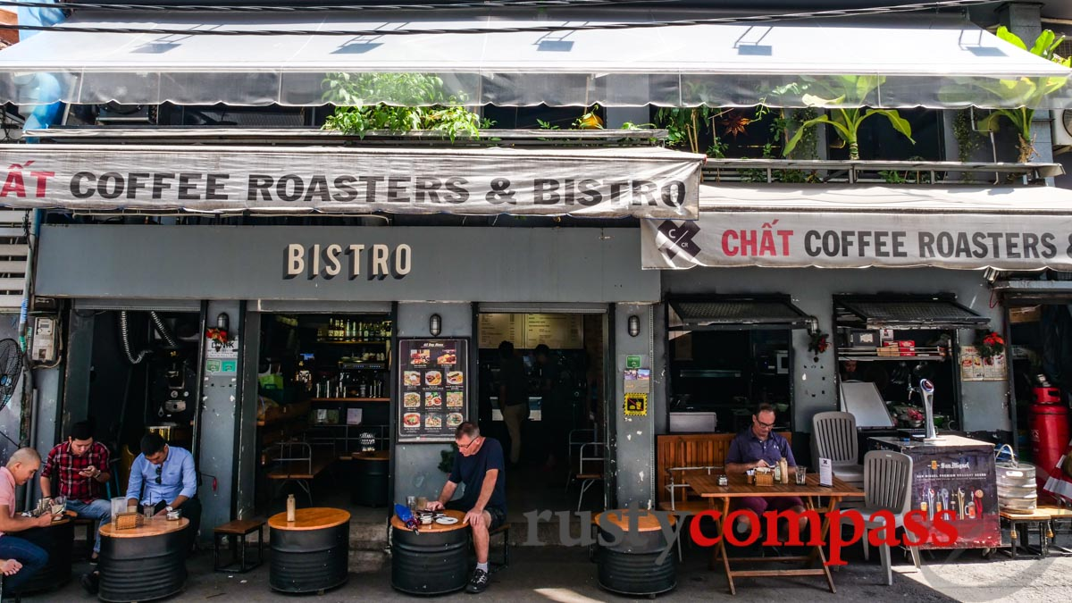 Chat Coffee Roasters, Saigon