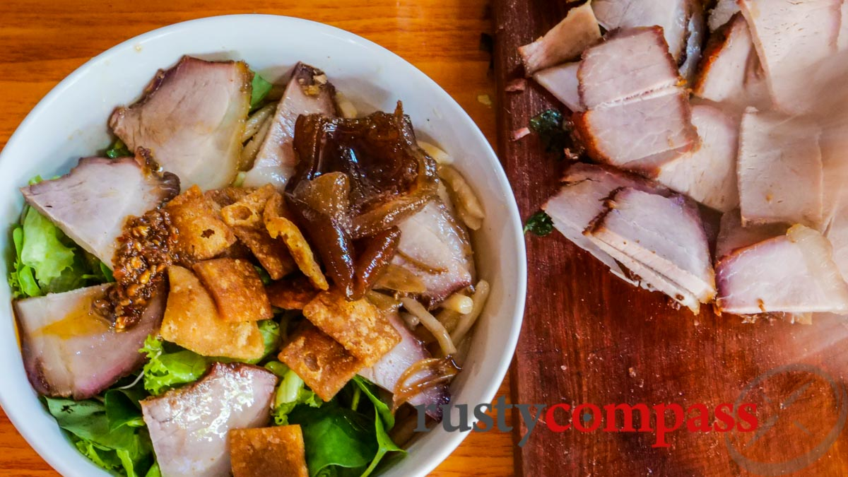 Cao Lau - a tasty specialty of Hoi An
