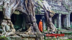 Angkor has been protected from the worst tourism excesses - someone should be thanked