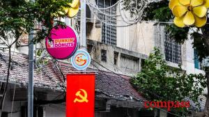 How did Dunkin Donuts and Burger King get prime positions for  Vietnam's 40th anniversary victory celebrations?