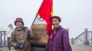 Scaling Fansipan, Vietnam's highest peak - by cable car