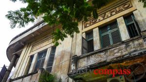 Airbnb in Saigon - a colonial era ruin springs to life
