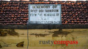 Foreign memorials in Vietnam - who was Roy Thompson?