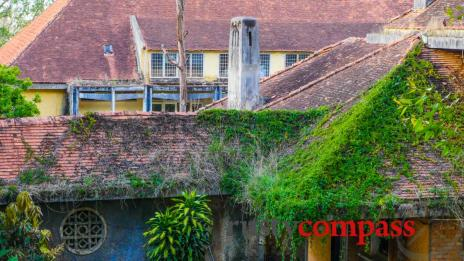 Beautiful ruins: The abandoned Franciscan Mission in Dalat Vietnam