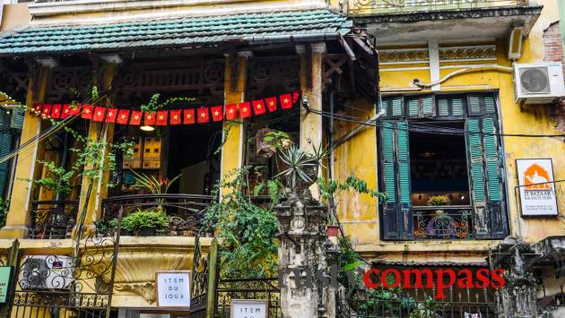 A peek inside one of Hanoi's grand colonial villas