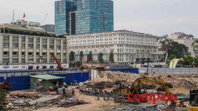 Video: Future Saigon - change at Pasteur and Le Loi downtown