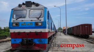 The train from Phan Thiet to Saigon