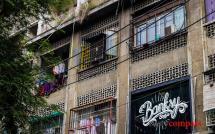 Exploring Saigon's colonial era apartment buildings