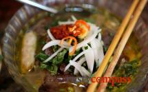Ben Thanh Market food stalls