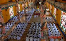 Cao Dai Temple - Tay Ninh
