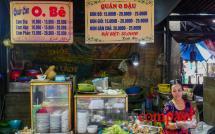 Dong Ba Market food stalls, Hue