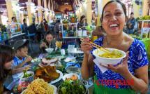 Central Market food hall, Hoi An