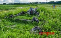 Japanese Tombs from the 17th century in the Hoi An countryside