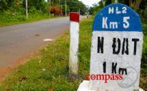 Long Tan Cross memorial, Nui Dat battlefields