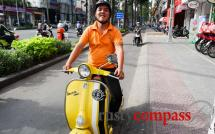 Motorbike tours in Saigon
