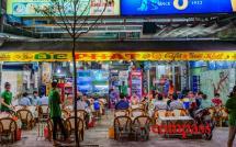 Vinh Khanh - local seafood strip Saigon