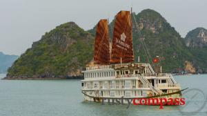 Cruise Halong - Ginger, Jasmine, Violet junks