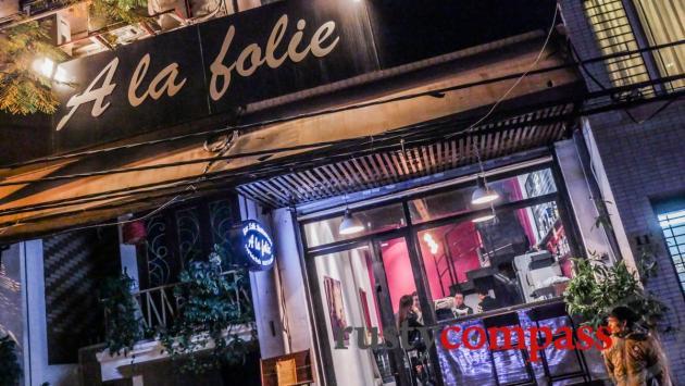 A la folie French restaurant, Hanoi